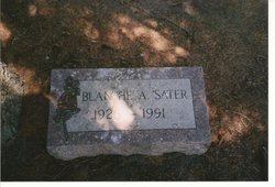 Blanche Annice <I>Stanley</I> Sater