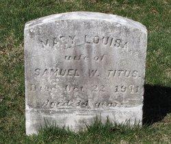 Mary Louisa <I>Bennet</I> Titus