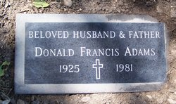 Donald Francis Adams