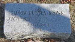 Gloria <I>Duryea</I> Brown