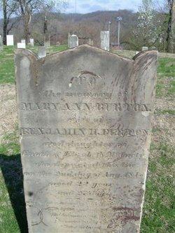 Mary Ann <I>McCarty</I> Burton