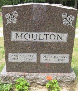 "Donna Rosemary ""Della"" <I>Moulton</I> Evans"