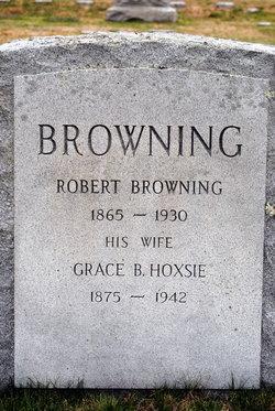 Grace B <I>Hoxsie</I> Browning