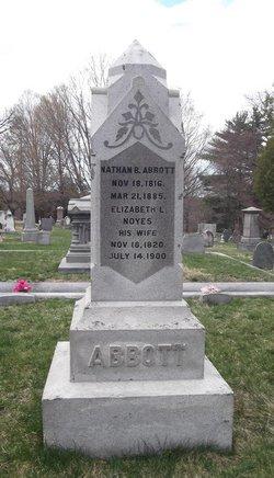 Elizabeth L. <I>Noyes</I> Abbott