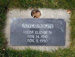 """Hulda Elizabeth """"Hollie"""" Anderson"""