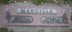 Minnie Paulina <I>Albers</I> Marcille