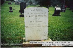 "Virginia Montague ""Gincy"" <I>Green</I> Moor"