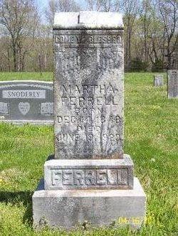 Martha Ann <I>Tuck</I> Ferrell