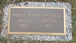 Bessie <I>Wyatt</I> Bagwell