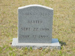 Johnny Alex Baxter