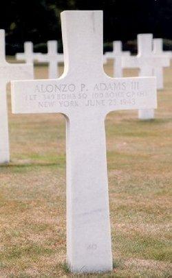 1Lt Alonzo Pelton Adams, III
