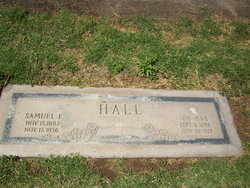 Ida Mae <I>Woodmansee</I> Hall