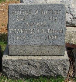 Frances J <I>Oldham</I> Butler