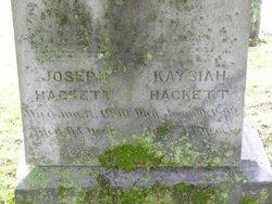 Joseph Hackett