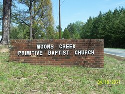 Moons Creek Primitive Baptist Church Cemetery