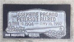Josephine <I>Paganos</I> Allred
