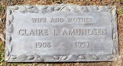 Claire Imogene <I>Cunningham</I> Amundsen