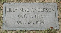 Lilly Mae <I>Giffin</I> Anderson