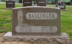 Fannie Ruth <I>Bean</I> Ballinger