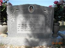 Alpha Geneva <I>Craig</I> Marriott