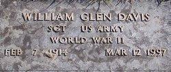 Sgt William Glenn Davis
