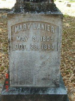 Mary <I>Peacock</I> Lanier