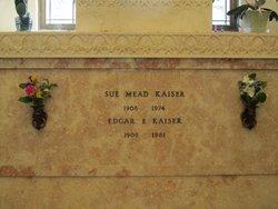 Susan <I>Mead</I> Kaiser
