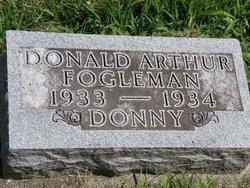 "Donald Arthur ""Donny"" Fogleman"