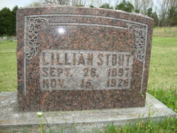 Lillian <I>Harmon</I> Stout