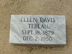 Florence Ellen <I>Davis</I> Tebeau