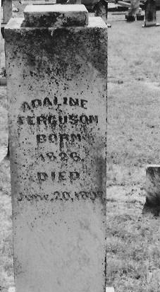 Adaline <I>Brown</I> Ferguson