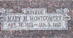 Mary <I>Howell</I> Montgomery