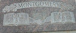 Lila Elbertha <I>Jones</I> Montgomery