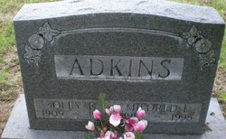 Mildred Louise <I>Shores</I> Adkins