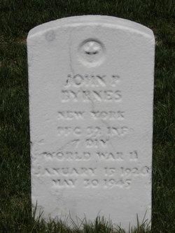 PFC John P. Byrnes