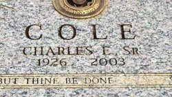 Charles E Cole, Sr