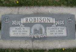 """Clarence Charles """"Ted"""" Robison"""