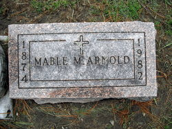Mable M <I>Hotaling</I> Arnold