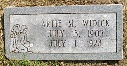Artie Mildred Widick