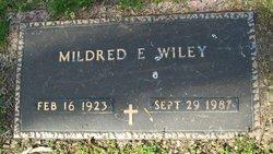 Mildred E. <I>Culver</I> Wiley