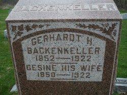 Gerhardt H Backenkeller