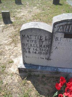 Mattie L Allman