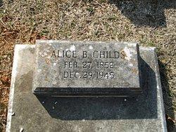 Martha Alice <I>Barfield</I> Childs