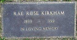 Rae Catherine <I>Rose</I> Blackwell Kirkham