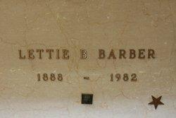 Lettie Brisca <I>Boatman</I> Barber