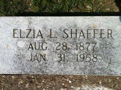 "Elzia Lonnie ""E.L."" Shaffer"