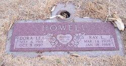 Irmadean Dora Lea <I>Hood</I> Howell