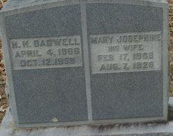 Mary Josephine <I>Evans</I> Bagwell