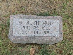 Mary Ruth <I>Eddelman</I> Muir