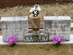 Mildred <I>Driggers</I> Corley